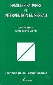 Familles pauvres et intervention en réseau - Intérieur - Format classique