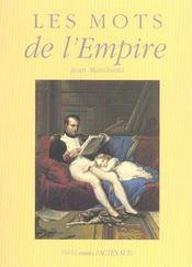 Les mots de l'empire - Intérieur - Format classique
