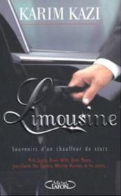 Limousine souvenirs d'un chauffeur de stars - Couverture - Format classique