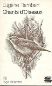 Chants D'Oiseaux Ps51 - Couverture - Format classique