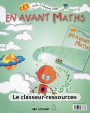 CE1 ; le classeur-ressources - Couverture - Format classique
