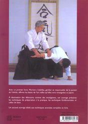 Aikido Officiel : Enseignement Fondamental - 4ème de couverture - Format classique