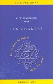 Chakkras ; les centres de forces dans l'homme - Intérieur - Format classique