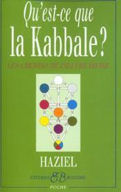 Qu'Est-Ce Que La Kabbale ? - Couverture - Format classique