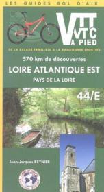 *Atlantique Est Vtt Vtc Pied - Couverture - Format classique