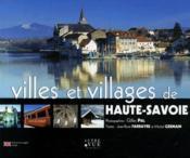 Villes et villages de Haute-Savoie - Couverture - Format classique