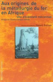 Aux Origines De La Metallurgie Du Fer En Afrique - Couverture - Format classique