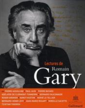 Lectures de Romain Gary - Couverture - Format classique