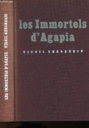 Les Immortel D'Agapia - Couverture - Format classique