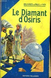 Le Diamant D'Osiris - Couverture - Format classique