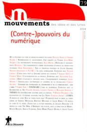 Revue Mouvements N.79 ; (Contre-)Pouvoirs Du Numérique - Couverture - Format classique