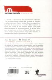Revue Mouvements N.79 ; (Contre-)Pouvoirs Du Numérique - 4ème de couverture - Format classique