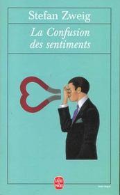 La confusion des sentiments - Intérieur - Format classique