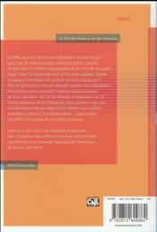 Le fils de l'ombre et de l'oiseau - 4ème de couverture - Format classique