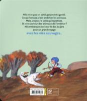 Le grand voyage de Nils Holgersson - 4ème de couverture - Format classique