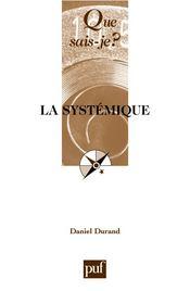 La systémique (10e édition) - Couverture - Format classique