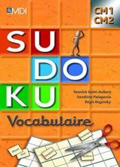 Sudoku vocabulaire ; CM1/CM2 - Couverture - Format classique