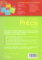 Nouveau précis exercices physique psi - 4ème de couverture - Format classique