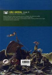 Ubu roi t.2 ; ubu amiral - 4ème de couverture - Format classique