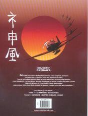 Le dernier kamikaze t.1 ; objectif Okinawa - 4ème de couverture - Format classique