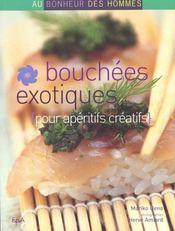 Bouchees Exotiques Aperitifs Creatifs - Intérieur - Format classique
