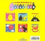 Barbapapa - 4ème de couverture - Format classique