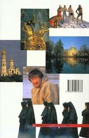 Russie - 4ème de couverture - Format classique