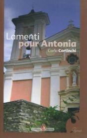 Lamenti pour antonia - Couverture - Format classique