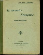 Grammaire Francaise - Cours Superieur - Couverture - Format classique