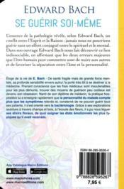 Se guérir soi-même (4e édition) - 4ème de couverture - Format classique