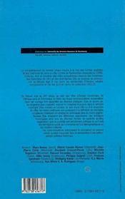 Enjeux Et Expressions De La Politique Municipale, Xii-Xx Siecles - 4ème de couverture - Format classique