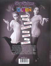 Star Sisters ; Les Jumelles Olsen - 4ème de couverture - Format classique