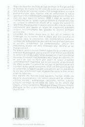 Le postocommunisme dans l'histoire - 4ème de couverture - Format classique