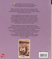 Les metiers d'autrefois - 4ème de couverture - Format classique