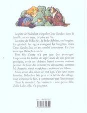 Bidochet le petit ogre - 4ème de couverture - Format classique