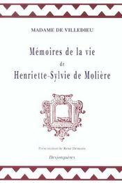 Memoires De La Vie De Henriette-Sylvie De Moliere - Intérieur - Format classique