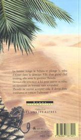 La Fille Des Sables - 4ème de couverture - Format classique