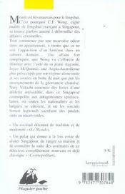 Le maître de feng-shui perd le nord - 4ème de couverture - Format classique