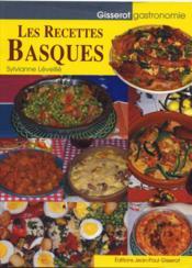Les recettes basques - Couverture - Format classique