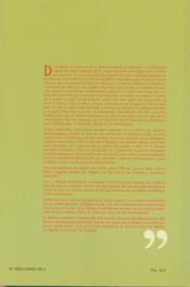 La question nationale en espagne - 4ème de couverture - Format classique