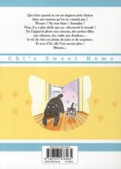Chi ; une vie de chat T.3 - 4ème de couverture - Format classique