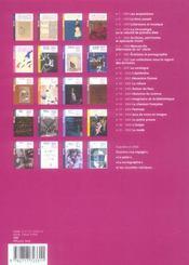 REVUE BNF T.21 ; la mode - 4ème de couverture - Format classique