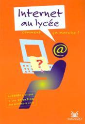 Internet Au Lycee - Couverture - Format classique