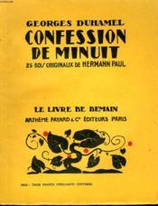 Confession De Minuit. 25 Bois Originaux De Hermann Paul. Le Livre De Demain N° 26. - Couverture - Format classique