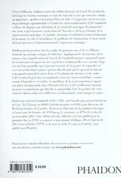 L'art & l'illusion - 4ème de couverture - Format classique