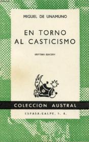 En Torno Al Casticismo, Colección Austral, N° 403 - Couverture - Format classique