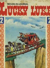 Recueil Du Journal Lucky Luke 2 Du N°7 Au N°12 - Couverture - Format classique