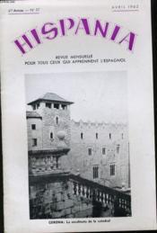 HISPANIA VIe ANNEE N°57 - Couverture - Format classique