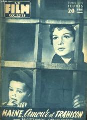 Film Complet N° 593 - Haine, Amour Et Trahison - Couverture - Format classique