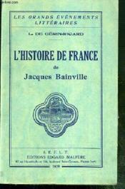 L'Histoire De France / Collection Les Grands Evenements Litteraires De L. De Gerin-Ricard. - Couverture - Format classique